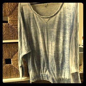 3/4 Sleeve, Burn-Out, Splendid Brand, Top